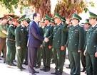 Chủ tịch nước Trần Đại Quang thăm, chúc tết các cán bộ, chiến sĩ đồn biên phòng
