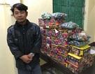 Ngụy trang pháo nổ trong xe container đưa từ Đồng Nai ra Nghệ An
