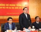 Bí thư Hà Nội: Hỗ trợ ĐH Quốc gia Hà Nội xây dựng hạ tầng tại Hòa Lạc