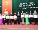 Quảng Bình: Trao tặng danh hiệu Nhà giáo ưu tú cho cán bộ, giáo viên
