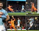 Man City 5-1 Leicester: Aguero thăng hoa với bốn bàn thắng