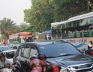 Chiều 28 Tết, giao thông ùn ứ ở cửa ngõ Đông Bắc TPHCM