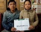Hơn 203 triệu đồng đến với gia đình bé gái 3 tuổi mắc ung thư võng mạc