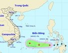 Bão Sanba đã suy yếu thành áp thấp nhiệt đới