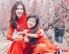 Hot girl Hà Min và mẫu nhí đẹp rạng ngời ngày Xuân
