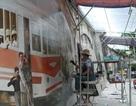 Những vòm cầu bích họa giúp phố Phùng Hưng thành không gian đi bộ