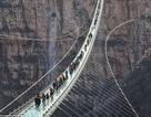 Cầu treo đáy kính dài nhất thế giới có thể chịu trọng tải tối đa 2000 người
