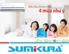 Sumikura bảo trì miễn phí, tung sản phẩm mới ngày đầu năm