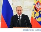 """Tổng thống Nga Putin sắp đọc thông điệp liên bang """"khác biệt"""" vào 1/3"""
