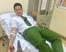 Trung úy công an vượt hàng chục km hiến máu cứu người đang nguy kịch