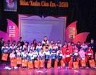 Hội Nhà báo Việt Nam trao tặng 78 suất quà đến các em học sinh nạn nhân chất độc da cam