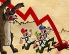 """Làn sóng """"tháo chạy"""" khiến VN-Index bị """"đánh bay"""" hơn 56 điểm"""