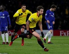Watford 4-1  Chelsea: Bất ngờ 10 phút cuối trận