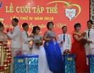 Ấm áp đám cưới tập thể cho người lao động nghèo Sóc Trăng