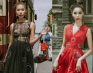 """""""Bom sexy"""" Minh Tú diện váy xuyên thấu trên đường phố"""