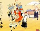 Người Trung Quốc cúng bánh ngọt vào lễ ông Công ông Táo