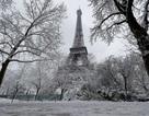 Tháp Eiffel đóng cửa do tuyết rơi dày