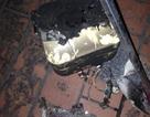 Hãi hùng video bình nóng lạnh phát nổ cháy đen trong nhà tắm