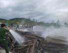 Cháy cực lớn tại khu đất chứa hàng nghìn tấm pin năng lượng mặt trời