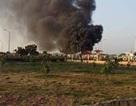 Bộ trưởng Công an đến hiện trường vụ cháy tàu xăng dầu ở cảng Đình Vũ