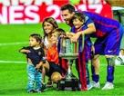 Messi cùng bà xã xinh đẹp mừng rỡ đón quý tử thứ ba