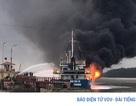 Công điện của Thủ tướng về việc tàu chở dầu bị cháy tại Hải Phòng