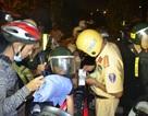 Thượng úy CSGT bị tông nguy kịch khi dừng xe vi phạm