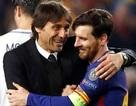 """Chelsea thảm bại, HLV Conte bái phục Messi là """"siêu cầu thủ"""""""