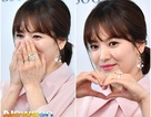 """""""Mỹ nhân mặt mộc"""" Song Hye Kye dịu dàng dự sự kiện"""