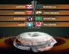 Atletico, Arsenal gặp lá thăm may mắn ở tứ kết Europa League