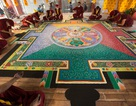 Tranh Mandala Phật Quan Âm bằng ngọc đá quý lập kỷ lục Việt Nam
