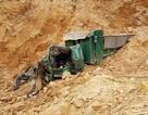 Hà Nội: Sập mỏ khai thác đất trái phép, tài xế xe tải bị vùi lấp