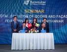 Eurowindow chính thứckhai trương văn phòng và phát triển sản phẩm tại Myanmar