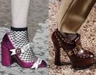 Những mẫu giày dép sành điệu tại tuần lễ thời trang Milan