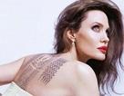 Angelina Jolie khoe hình xăm khủng trong bộ ảnh mới