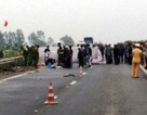 Tạm giữ khẩn cấp lái xe containrer đâm chết 2 người rồi bỏ trốn