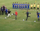 Tổng thống Hàn Quốc, Phó Thủ tướng Vũ Đức Đam cùng đá bóng với Xuân Trường