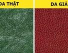 Cách phân biệt chất liệu da thật và da tổng hợp
