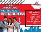 Hội thảo Du học Canada - Cập nhật chính sách Visa SDS và phương án hậu CES 2018