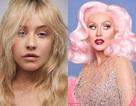 Christina Aguilera khác lạ khi không trang điểm