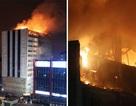 Nhà cao tầng ở Nga cháy ngùn ngụt trong đêm, hàng trăm người sơ tán