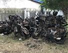 Vụ cháy chung cư Carina: Xe máy trơ khung chất thành đống