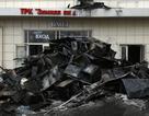 Cảnh đổ nát bên trong trung tâm thương mại Nga sau vụ cháy khiến 64 người chết