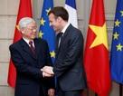 Hình ảnh Tổng Bí thư Nguyễn Phú Trọng hội đàm với Tổng thống Pháp tại Điện Elysee