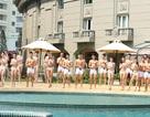 Màn trình diễn bikini nóng bỏng của 30 thí sinh Người mẫu thời trang Việt Nam