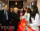 Tổng Bí thư Nguyễn Phú Trọng gặp gỡ cộng đồng người Việt tại Pháp