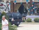 Vụ hàng chục xe biển xanh đến đám cưới: Cán bộ đi xe nói gì?