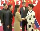 Vẻ đẹp thanh lịch của hai đệ nhất phu nhân Trung - Triều