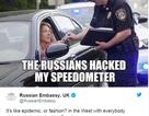 """Cách châm biếm ẩn ý của Nga sau """"trào lưu"""" trục xuất tập thể của phương Tây"""
