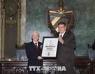 Lễ trao Bằng Tiến sĩ danh dự chuyên ngành khoa học chính trị tặng Tổng Bí thư Nguyễn Phú Trọng
